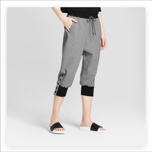 Hunter by Target Crop Jogger Sweatpants Small